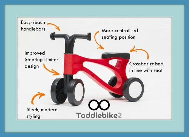 Toddlebike2 features