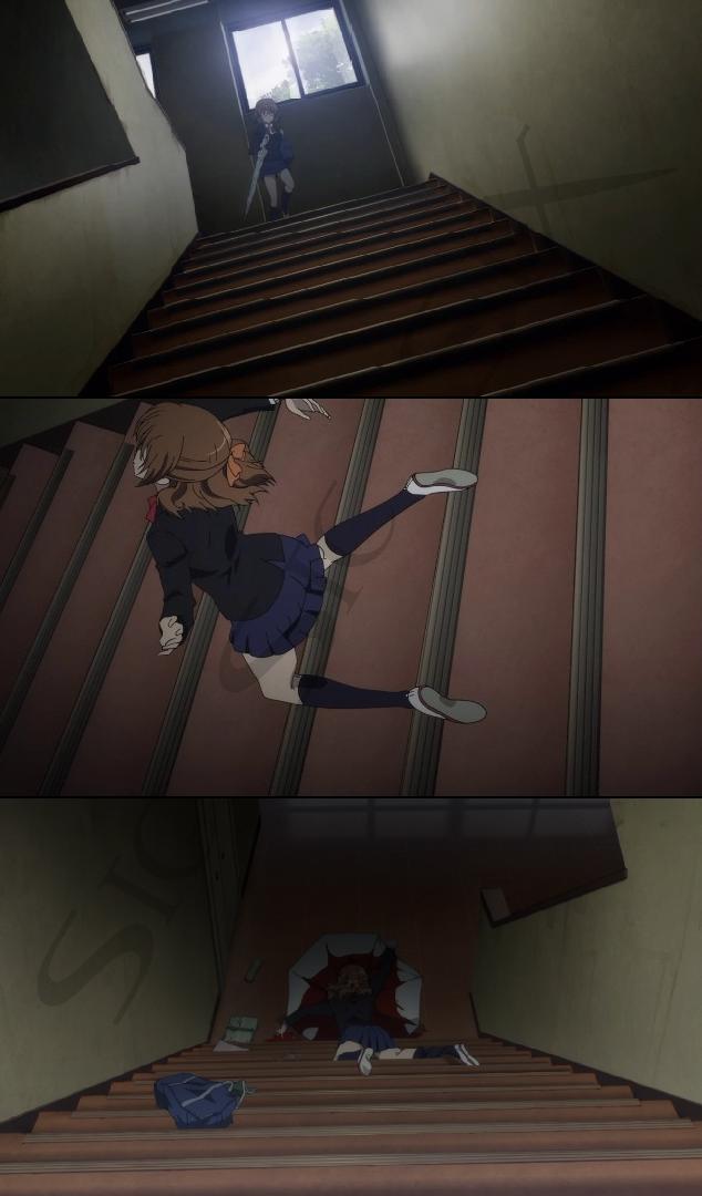 another anime umbrella death - photo #10
