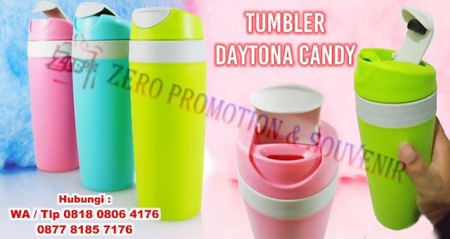 Souvenir Natal botol minum (Tumbler) Daytona candy