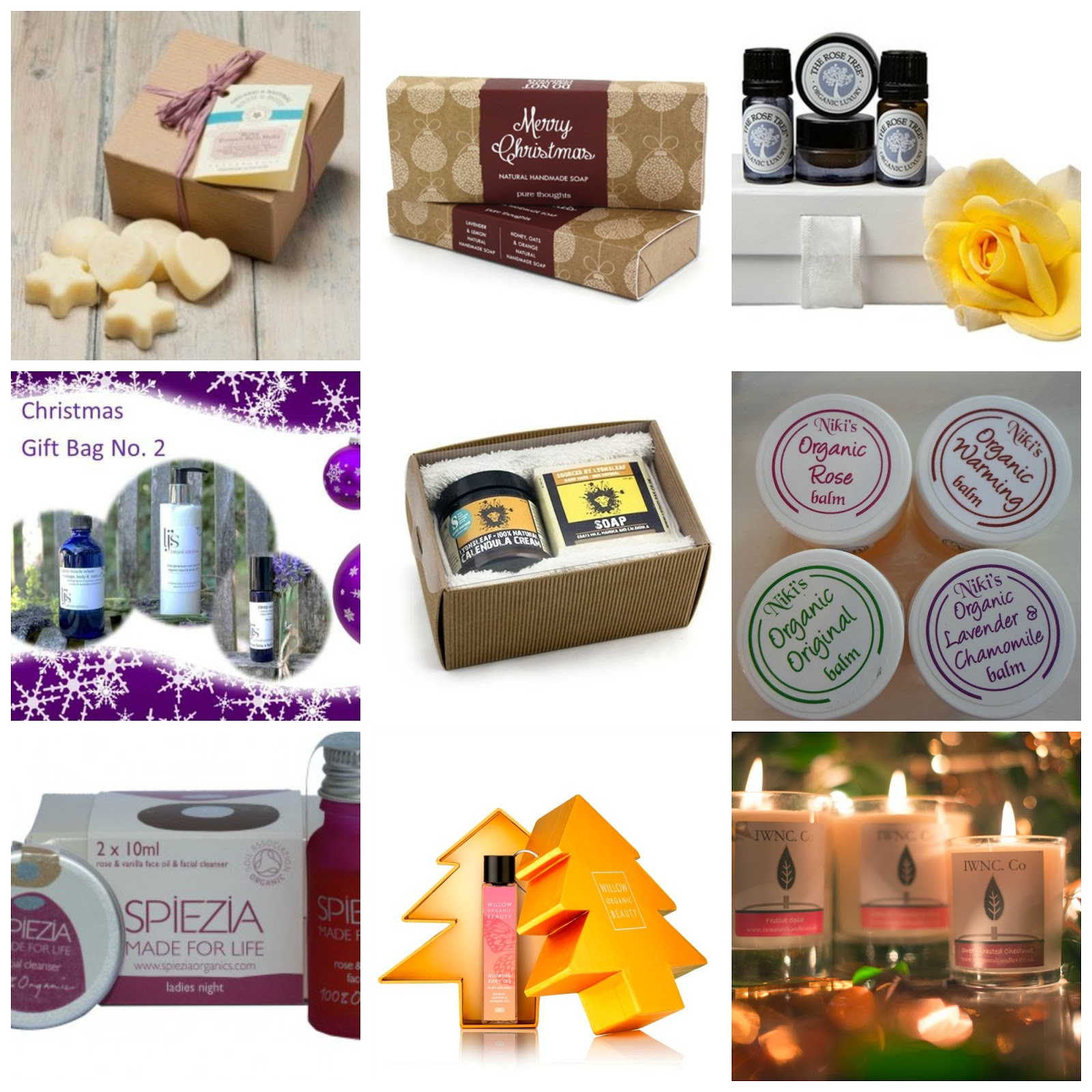 Natural & Organic Skincare Christmas Gift Ideas 2014 - Sugarpuffish