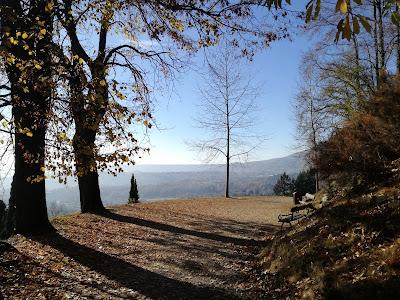 i panorami del parco Burcina