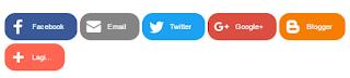 tombol share sosial media keren untuk website