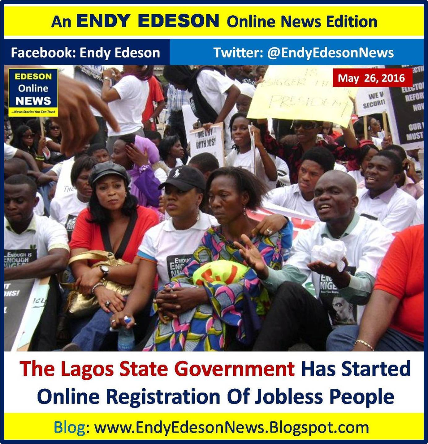 Edeson Online News: CURRENT AFFAIRS: The Lagos State Govt ...