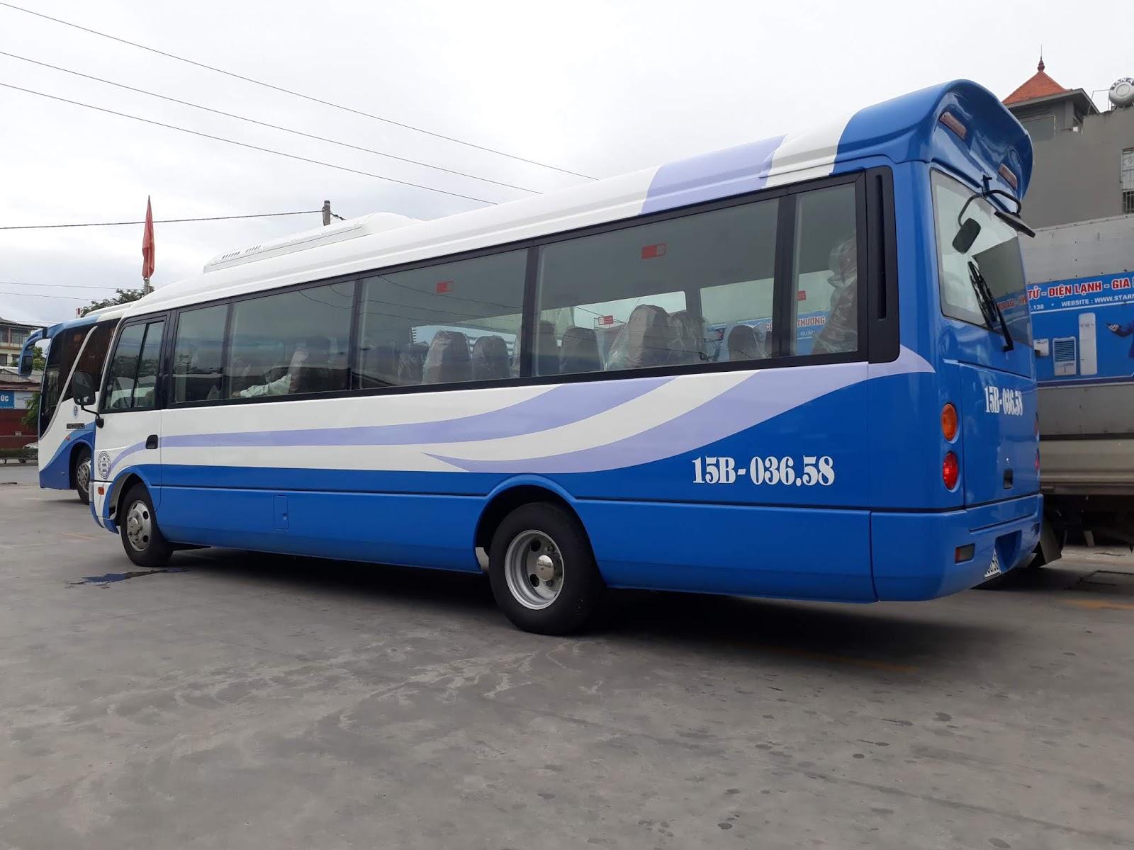 Xe khách 29 chỗ ngồi Fuso Rosa tại Hải Phòng