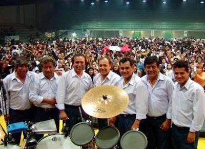 Foto de Agua Marina en concierto