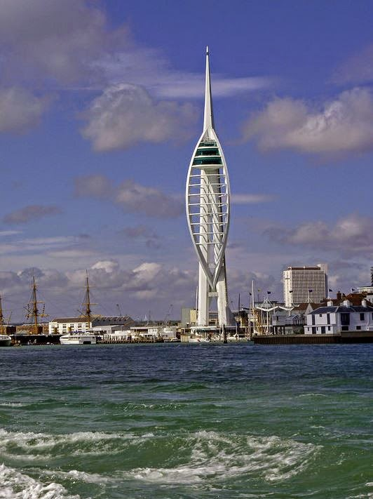 Buy canvas print of Spinnaker Tower