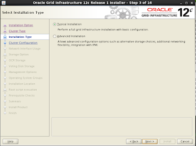 GRID Installation - RAC 12c Setup Step by Step on Oracle Virtual Box