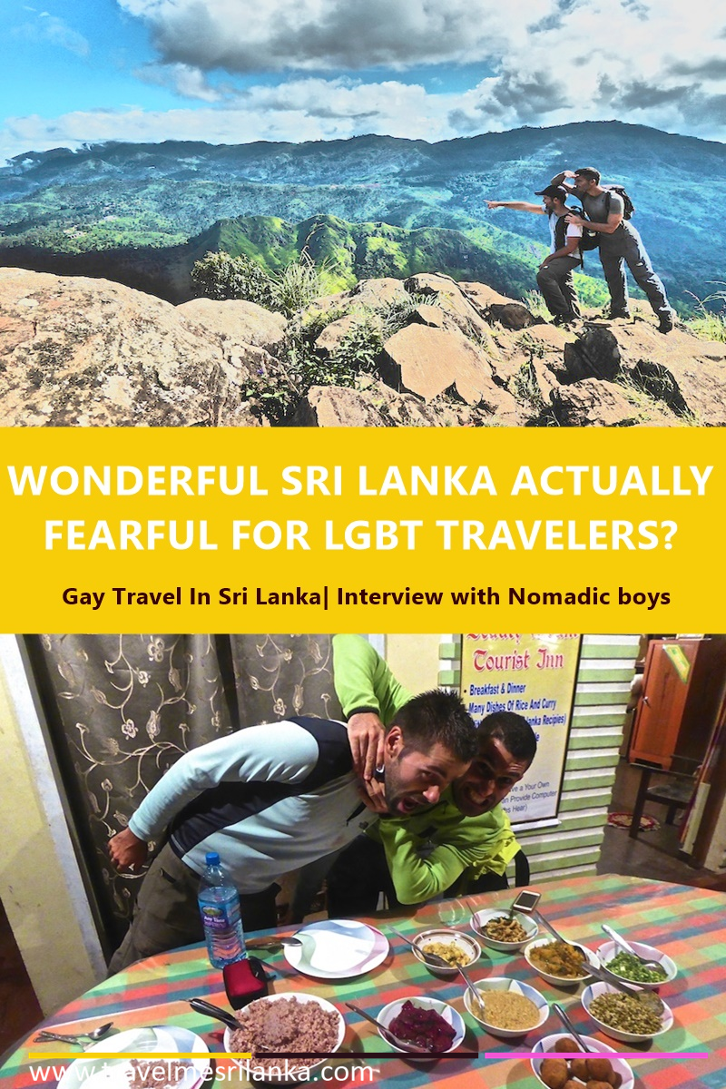 Gay tarvel in Sri lanka