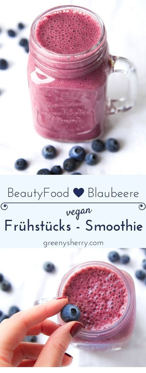 Beauty-Food Blaubeer-Smoothie