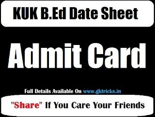 KUK B.Ed 1-2