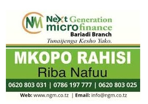 Next Generation Microfinance, Credit officers