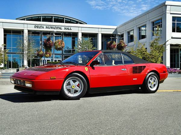1988 ferrari mondial cabriolet auto restorationice. Black Bedroom Furniture Sets. Home Design Ideas
