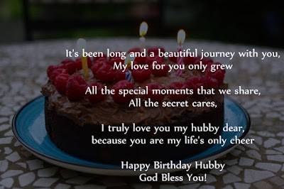 Romantic Happy Birthday Poems for Husband (Hubby)