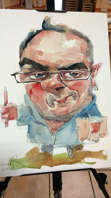 caricatures a bozouls france