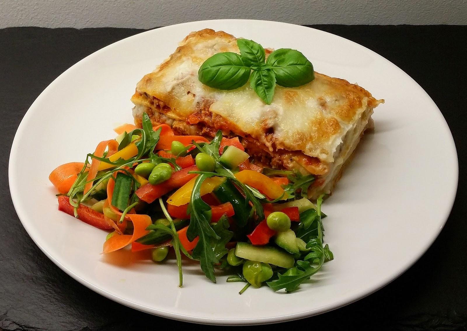 grøntsagslasagne uden pasta