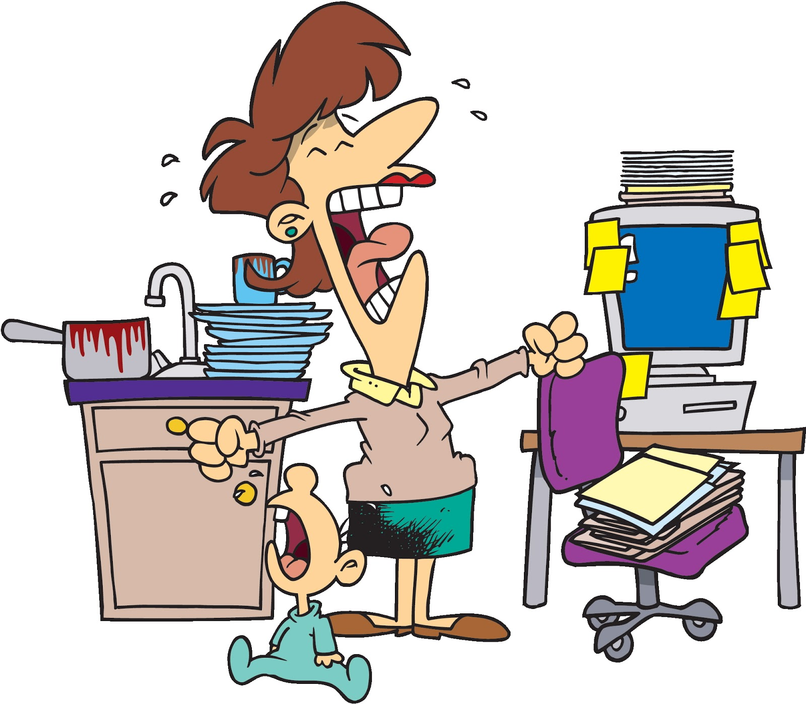 HR BlogVOCATE: Work-Life Balance—It Doesn't Exist, Okay ...