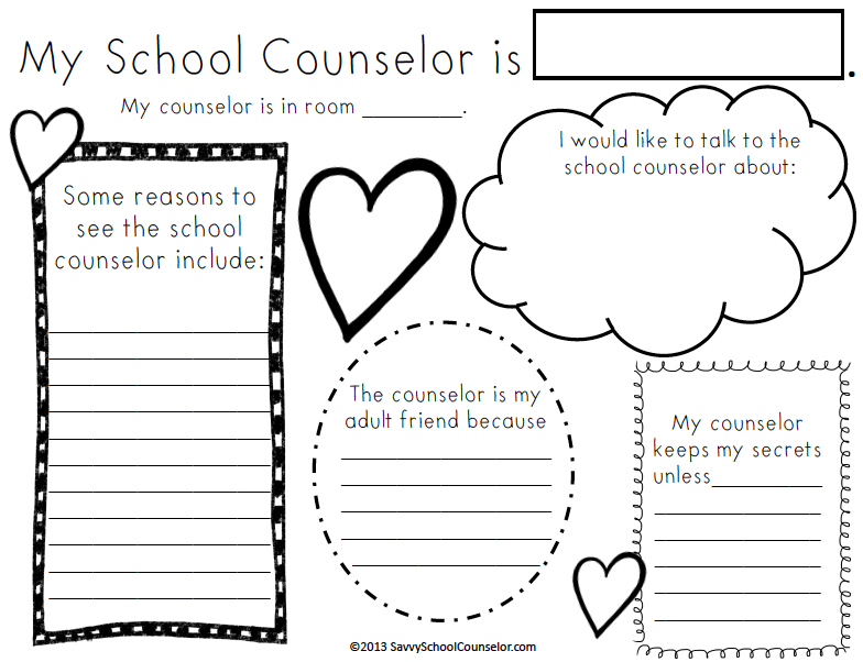Ms. Sepp's Counselor Corner: First Week: Meet the Counselor