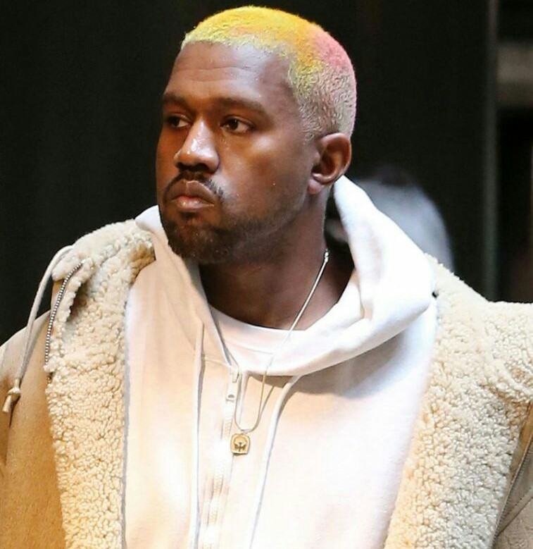 Image result for kanye west new hairstyle