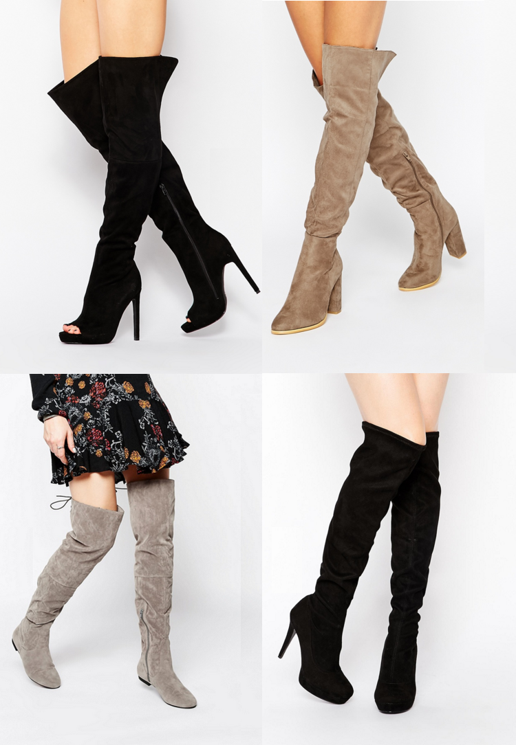 212c0a4823f Fashion Trends    Over The Knee   Thigh High Boots