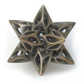 Esculturas con metales reciclados