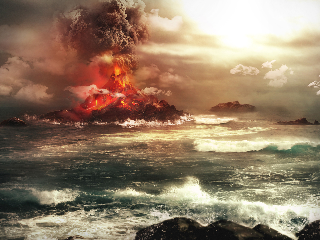 Smoke Background Hd >> Volcanic Eruptions   Natural Creations