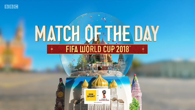 BBC Match of the Day – World Cup 16th June 2018