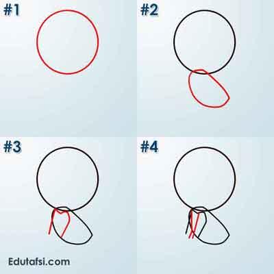 Cara menggambar kartun lucu menggunakan topi CARA MENGGAMBAR KARTUN CHIBI BOY BERTOPI STEP BY STEP