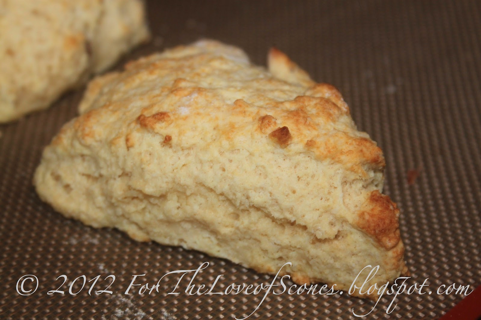 For the Love of Scones!: Almond Buttermilk Scones