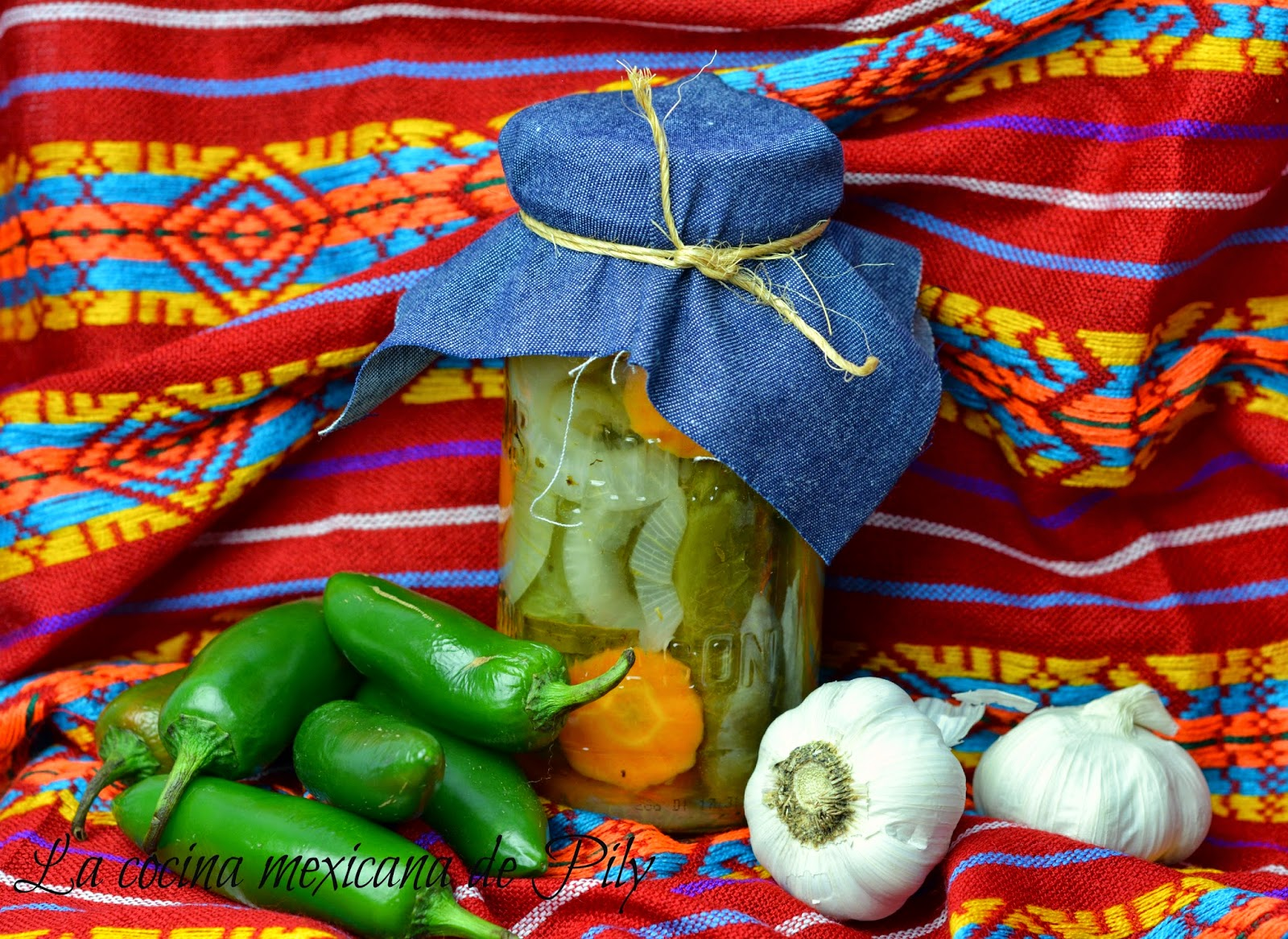 Chiles Jalapeños en Escabeche | La Cocina Mexicana de Pily