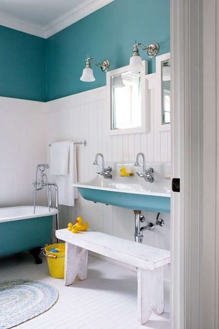 Just The Bee's Knees: Boys Bathroom Inspiration And A Mood