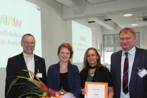 Platz 1 des Website-Awards 2014 der IHK Nürnberg: Camano GmbH & Co. KG.