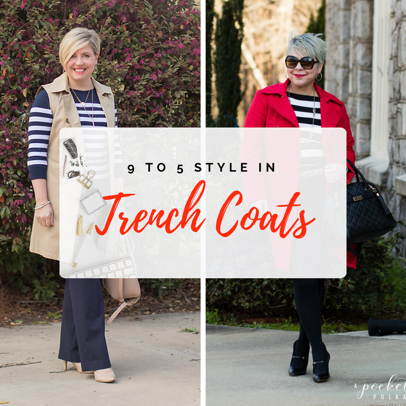 9 to 5 Style – Trench coats