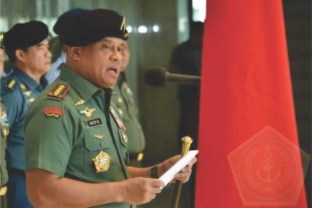 Panglima TNI : Peran dan Tugas TNI Untuk Mendukung Program Pemerintah