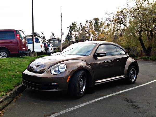 2012 Volkswagen Brown Beetle