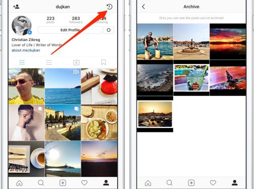 Cara Mengarsipkan Postingan di Instagram  4