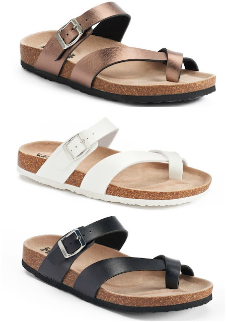 Kohl's: Mudd Toe Loop Sandals only $9 (reg $24)!