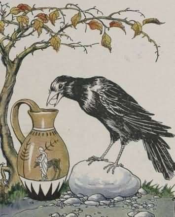 Kumpulan Cerita Dan Dongeng Burung Gagak Yang Haus