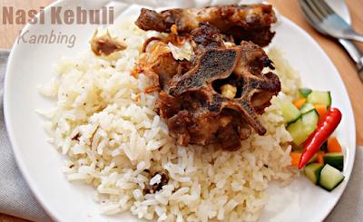 Resep Dan Cara Membuat Nasi Kebuli Kambing dengan Rice Cooker