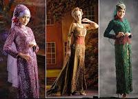 Kebaya Brokat Untuk Wanita Muslimah