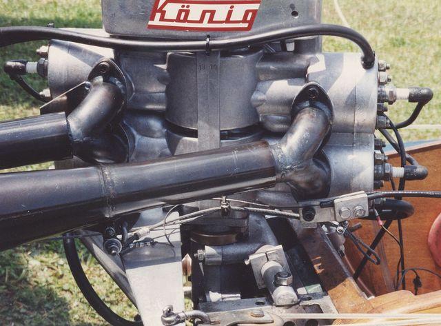 Konig Hydroplane Engine