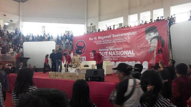 Begini Cara PDIP Gaet Pemilih Pemula Lewat SBMPTN, Megawati Langsung Turun