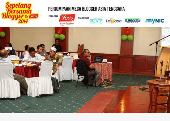 Sepetang Bersama Blogger #SBB2014 #SBBYEOS2014