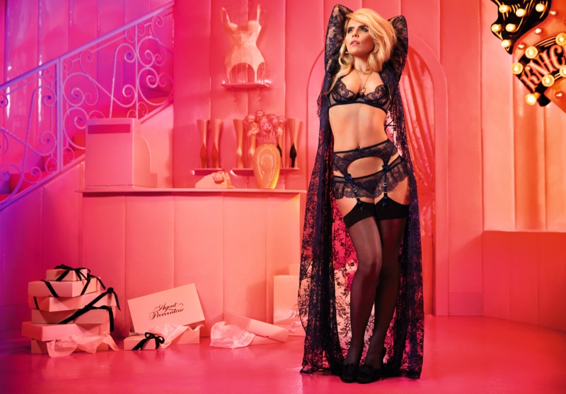 Paloma Faith seductive in Agent Provocateur's Fall/Winter 2015 Ad Campaign