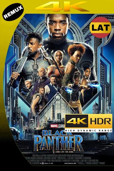 PANTERA NEGRA 2018 LATINO UHD 4K HDR BDREMUX 2160P MKV