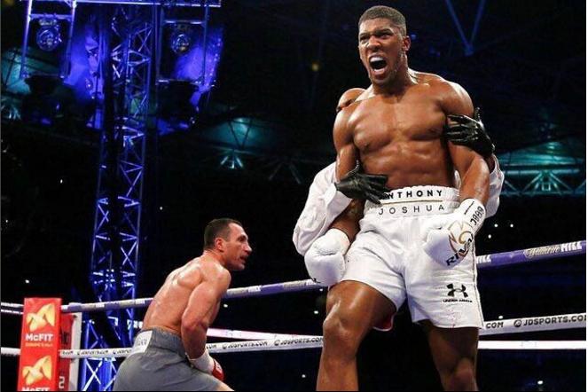 Anthony Joshua Nigeria Map Tattoos: Anthony Joshua Becomes New World Heavyweight Boxing