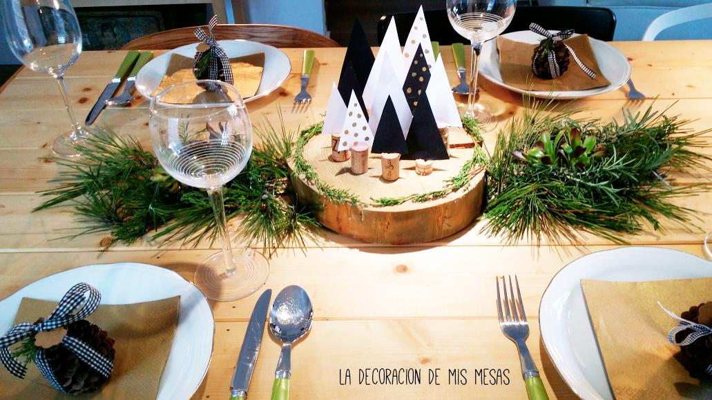 Decorando la mesa de navidad 2016 - Mesas de navidad 2016 ...