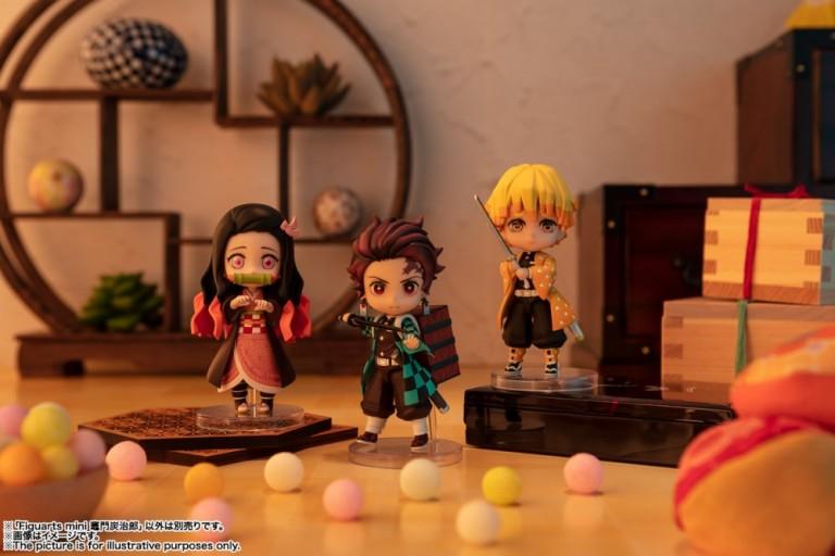 Figuras: Anunciados los Figuarts Mini de Kimetsu no Yaiba - Tamashii Nations