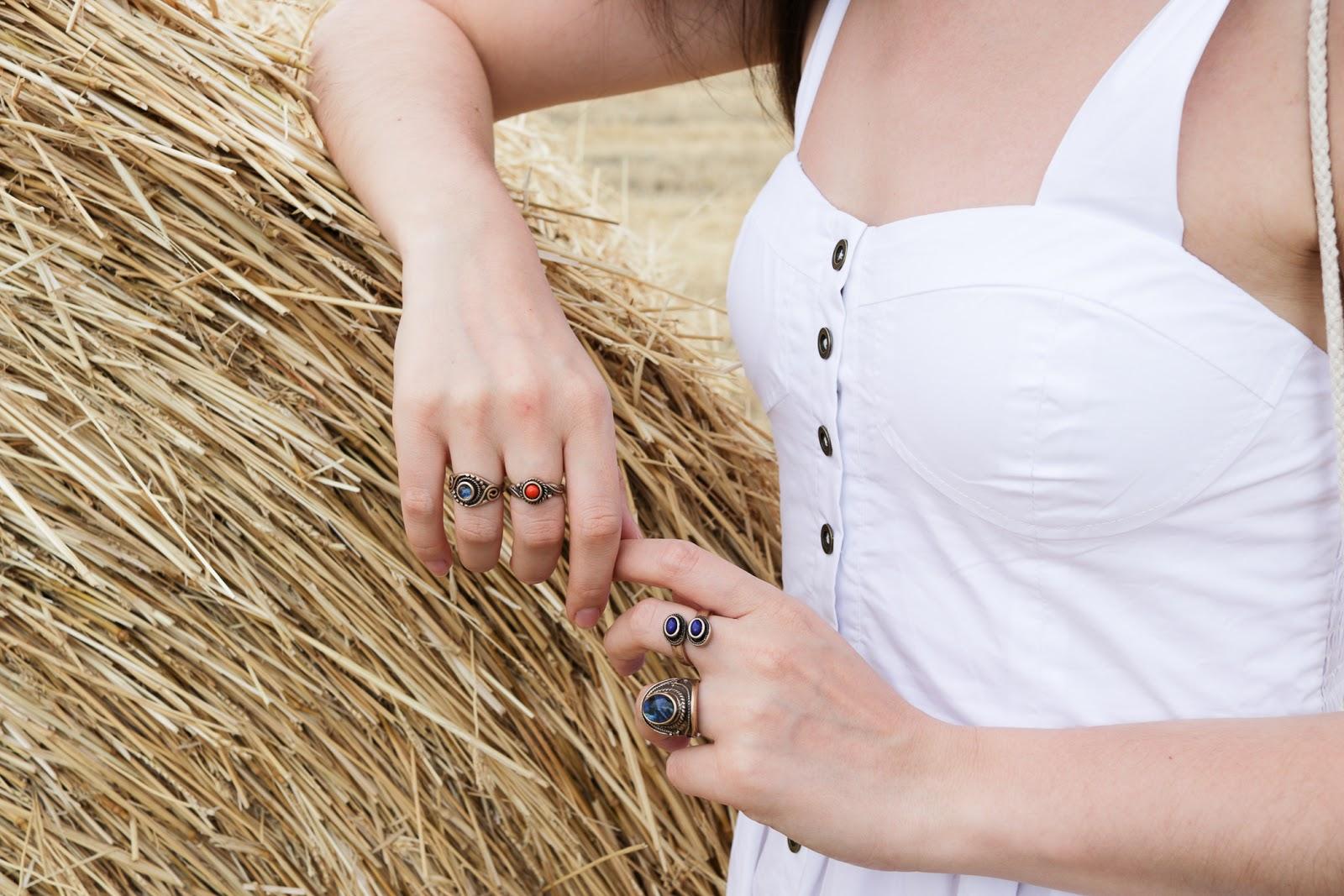 Il vestito bianco perfetto per l'estate!