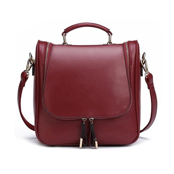 Mulheres Casual Multifuncional Diagonal Backpack, wishlist newchic, bolsa compacta, bolsa multifuncional, bolsa tote