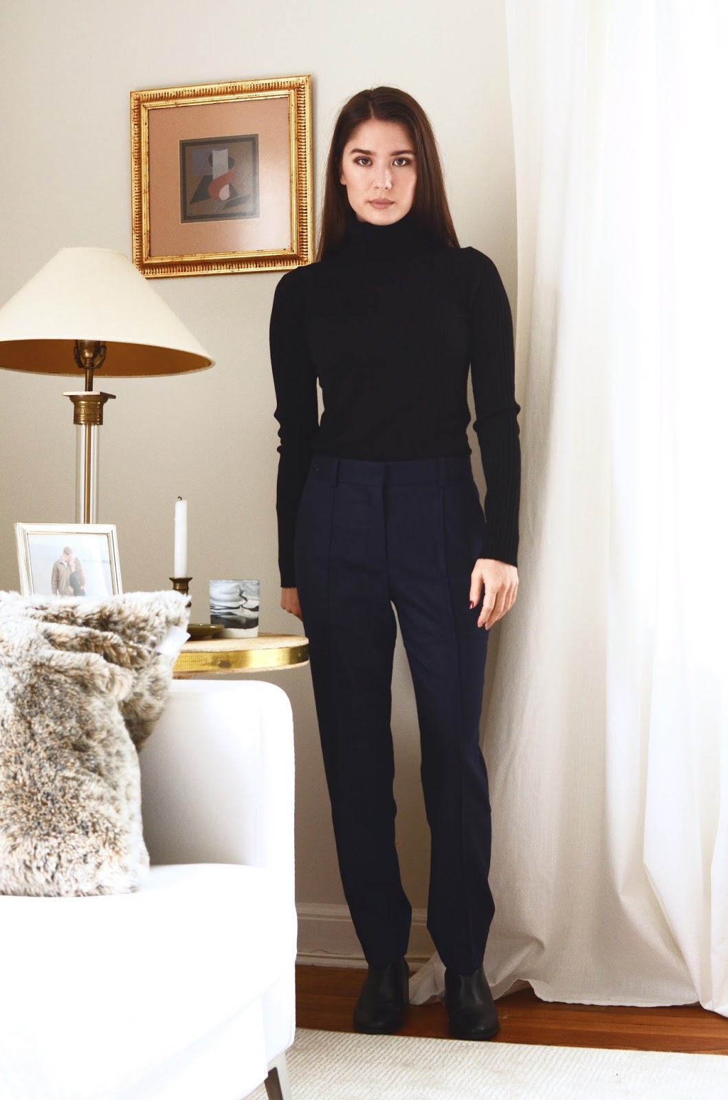 f47c879dbc6 Everlane Luxe Wool Ribbed Turtleneck Review Photos